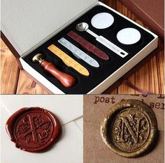 Arts,crafts & Sewing New Hot Hogwarts Wax Seal Stamp In Gift Box Scrapbooking Diy Ancient Seal Retro Stamp,vintage Signet Gift High Quality