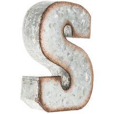 Small Galvanized Metal Letters Small Galvanized Letter  H  Decor Family Room  Pinterest  Ps