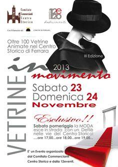 Vetrine in Movimento / Terza Edizione - Novembre 2013