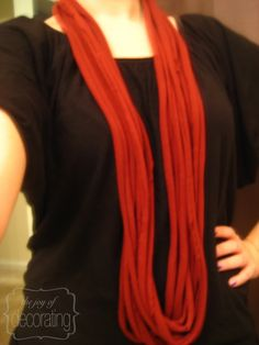 DIY Scarf! I love these!