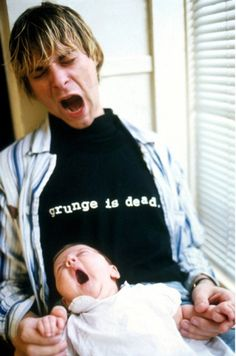 Kurt Cobain's body was discovered 18 years ago, on April 8, 1994.  It's insane to think that roughly half of my life has been after Kurt's death.