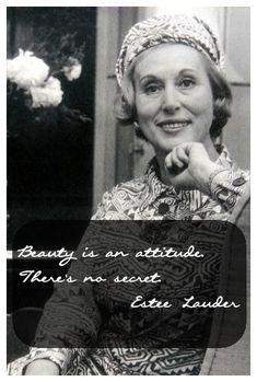 Beauty Quote of the Week: Estee Lauder