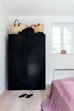carved black wardrobe... stunning
