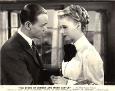 Ginger Rogers and Fred Astaire The Story of Vernon and Irene Castle 1939