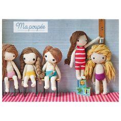 Ma poupée au crochet: Amazon.fr: Isabelle Kessedjian: Livres. Crochet Dolls. Amigurumi.