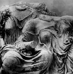 Cave to Canvas, Dione and Aphrodite from the Parthenon's East...The movement of this draping is astounding