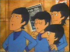 "The Beatles Cartoon ""Paperback Writer"""