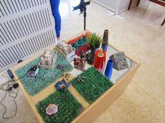 Grass mats fpr display-adds texture ....Syrenen Töreboda Blog