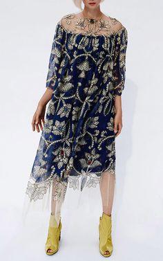 Gemstone Print Midi Dress by ALENA AKHMADULLINA for Preorder on Moda Operandi