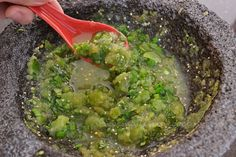 Salsa de la suegra, receta de Colima