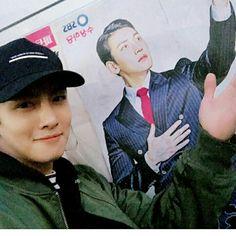 #JiChangWook actualizo su cuenta de Instagram con esta linda foto  (Abril/ 21/17)