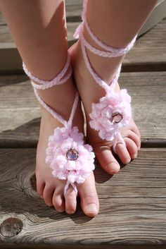 Ravelry: mcgonigal32's Carnation Baby Barefoot Sandal