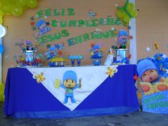 pocoyo party Centerpiece idea