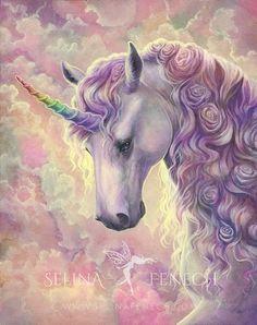 Unicorn Oil, Unicorn Painting, Unicorn Fantasy, Unicorn And Fairies, Unicorns And Mermaids, Beautiful Unicorn, Beautiful Fantasy Art, Fantasy Paintings, Fantasy Artwork