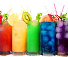 Blue Cherry Colors Cute Drink Food Fruits Fun Funny Green Limo Lovely Orange Red Strawberry Summer Violet Yellow - PicShip