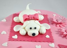 tarta perrito - dog cake