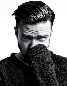 Justin Timberlake- Winner in my book of the Best Men's Haircut of 2013