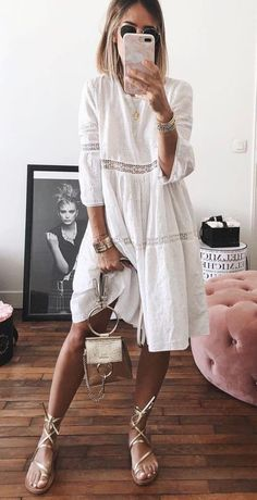 Summer Outfits Guide 2019 Vol. 2 - Guide Outfits summer Vol - guide outfits summer Vol 621848661032486764 Cute Summer Outfits, Spring Outfits, Summer Dresses, Beach Dresses, Casual Summer, Look Fashion, Trendy Fashion, Fashion Design, Mode Outfits