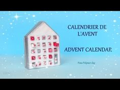 [Stop Motion] Advent Calendar Clay Tutorial / Tuto Fimo Calendrier de l'Avent - YouTube