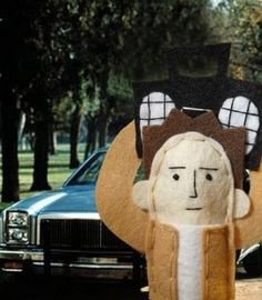 Say Anything Lloyd Dobler Finger Puppet