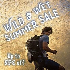 Get wild and wet this Summer! Save up to 55% on on a wide variety of items for your Summer adventures at http://ift.tt/28QpRIM #liveyourquest #aqwaterproof