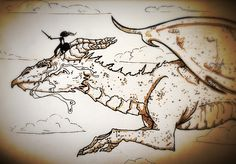 Dragon riding. By lauren jansons