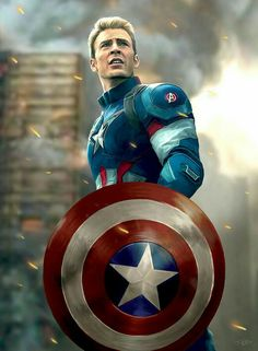 Captain America Personalised Poster A4 Print Wall Art Fast Delivery✔ Chris Evan