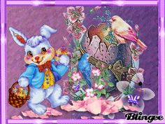 pink and purple easter challenge