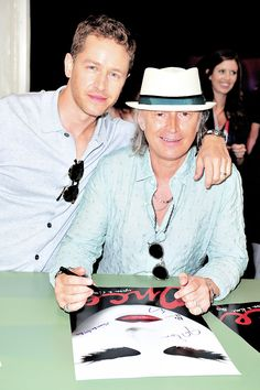 Robert Carlyle and Josh Dallas