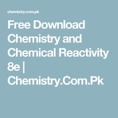 Free download student solutions manual to accompany atkins free download chemistry and chemical reactivity 8e chemistry fandeluxe