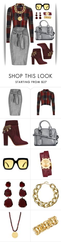 """~pencil skirts~"" by confusgrk ❤ liked on Polyvore featuring River Island, Topshop, Aquazzura, Alexander McQueen, Gucci, Movado, Annoushka, Kenneth Jay Lane, NEST Jewelry and AmiciMei"