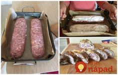 Archívy Recepty - Page 6 of 790 - To je nápad! Sausage, Food And Drink, Beef, Haha, Meat, Sausages, Ox, Ground Beef, Steak