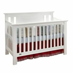 Lolly and Me Delaney 4-in-1 Convertible Crib