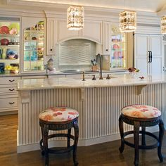 ~ LIKE THE BEADBOARD ON THE KITCHEN ISLAND WHERE PEOPLE ALWAYS KICK THEIR FEET ~ Beadboard Design, Pictures, Remodel, Decor and Ideas - page 7