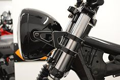 Motorbike Motorcycle Headlight Brackets PAIR for 50 - 51mm Forks High Quality CNC Machined: Amazon.co.uk: Car & Motorbike