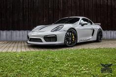 Porsche Cayman GT4 - Concrete Grey