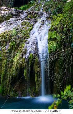 Krushuna, the amazing waterfall from Bulgaria and Balkan Mountains Bulgaria, Waterfalls, Royalty Free Stock Photos, Mountains, Amazing, Illustration, Nature, Pictures, Outdoor