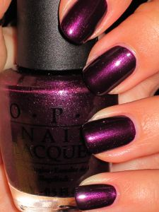 purple polish!  OPI