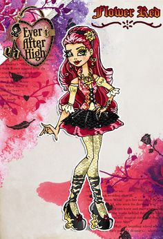 Ever After High OC: Flower Red by Rsac3.deviantart.com on @deviantART