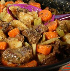 Recipe For Beef Stewtender Chunks Of Meat You Can Cut With A Fork, It's The Perfect Comfort Food. Browning The Meat Is Key And Takes Time. Pieces Should Not Touch So Do It In Two Batches If Necessary. – Jenny Jones
