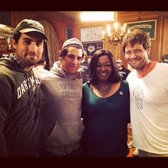 Grey's Anatomy, Scandal and How to get away with murder executive producer Shonda Rhymes at Mindy's set with cast