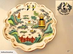 Coalport Chinese Willow plate