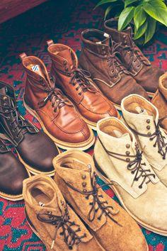 boots. Men's fashion