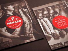 F. Ménard brand identity  ~ #BrandIdentity #GraphicDesign #Inspiration