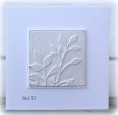 F4A258 Faux gypsum by Biggan - Cards and Paper Crafts at Splitcoaststampers