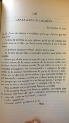 〽️ Frida Kahlo a Carlos Pellicer