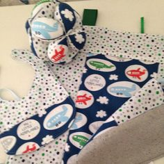 Super soft Tag Blanket, Montessori Baby Ball and Bib for your sweet little bundle of joy! Great shower gift!