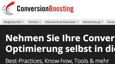 Im Test: ConversionBoosting.com - Mehr Infos zum Thema auch unter http://vslink.de/internetmarketing