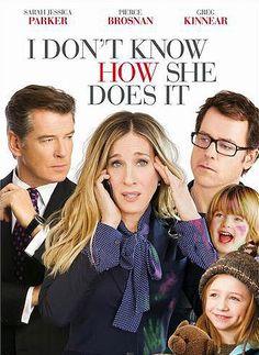 #I #Don't #Know #How #She #Does #It #IDon'tKnowHowSheDoesIt #SarahJessicaParker #carriebradshaw #Sarah #Jessica #Parker #Pierce #Brosnan #PierceBrosnan #Greg #Kinnear #GregKinnear #film #cinema #movie #funny #romantic