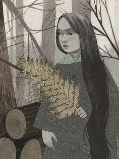 La Carpa. Rebecca Green, Illustration